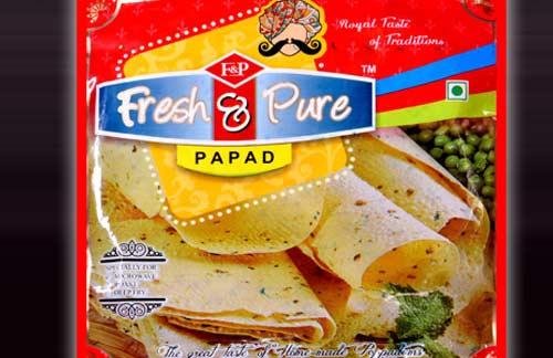 """Moong Sada Papad 9"""" in Jodhpur, Rajasthan- India"""