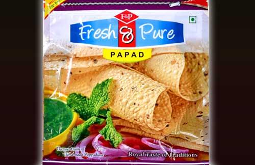 "Urad Punjabi Papad 5"" in Jodhpur, Rajasthan- India"